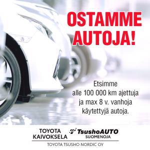 Ostamme autoja - ota yhteyttä meihin, teemme tarjouksen.  www.tsushoauto.fi/vaihtoautot/ostamme-autosi