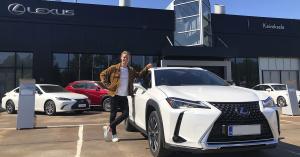 Kevin Lankisen kesä starttaa Lexus Kaivokselasta - Toyota Tsusho Nordic Oy