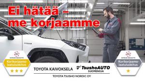 Toyota Kaivokselassa sinua palvelee myös täyden palvelun korikorjaamo. On sitten kyseessä iso tai pieni kolhu, tuulilasin vaihto...