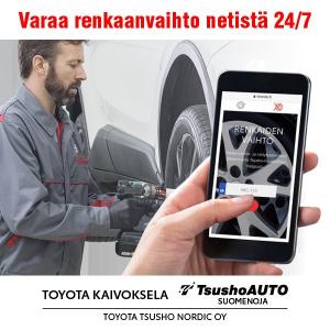 Varaa aika renkaidenvaihtoon - Toyota Tsusho Nordic Oy