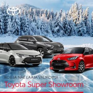 Parhaat vaihtoehdot auton ostoon ja vaihtoon. - Toyota Tsusho Nordic Oy