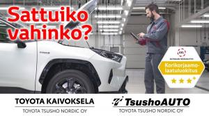 Sattuiko vahinko? Ei hätää, ammattilaisemme Toyota Kaivokselassa ja TsushoAUTOssa auttavat. Huiput ammattilaiskorimekaanikkomme ...