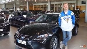 @ttnordic_fi: Kevin Lankinen kävi hakemassa TsushoAUTOsta Kesäksi auton.  Minkä auton maailmanmestari valitsi? 🏆🇫🇮 #tsushoauto#ttnordic#kevinlankinen#maailmanmestarit2019#lexus